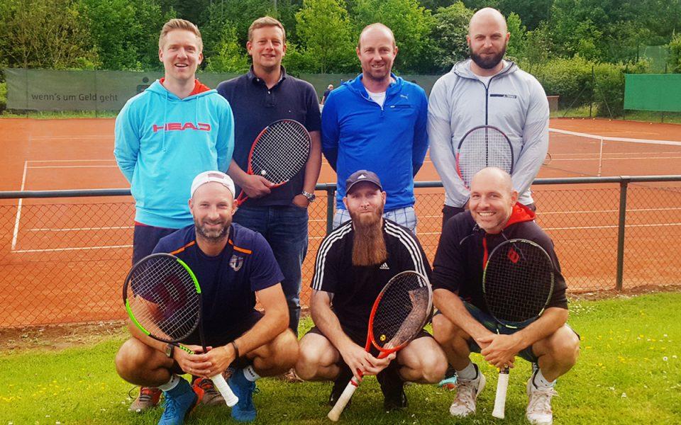 Tennis Weiss-Rot - Herren 30